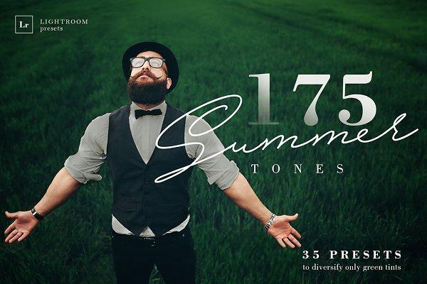 175 Summer Tones Lightroom Presets