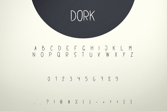 Stork and Dork font duo