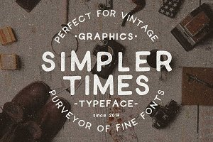 Simpler Times Typeface