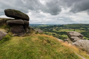 Bolders at Froggatt Edge