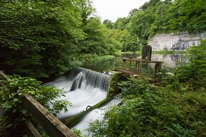 Cressbrook Weir, Peak District
