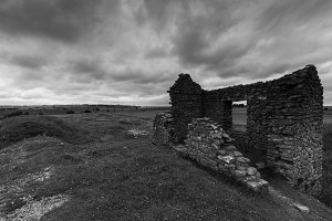 Derelict Building, Magpie Mine