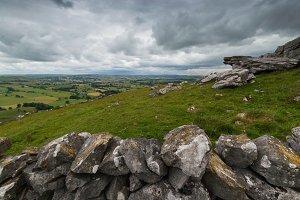 Stone Wall at Wolfscote Hill