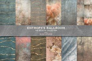 Entropy's Ballroom Rose Gold Texture