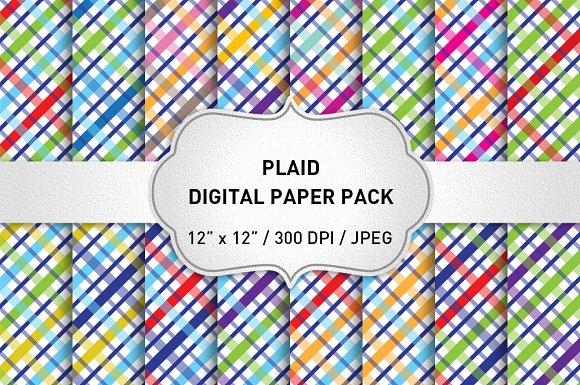 Plaid Pattern Plaid Background