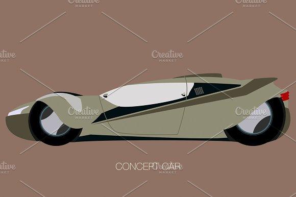 Futuristic Supercar