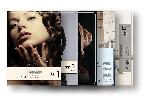 Sinis A4 Cover Template