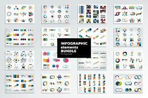 Infographic elements mega bundle.