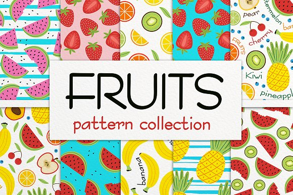Fruit Pattern Collection