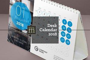 Desk Calendar 2018 (DC032-18)