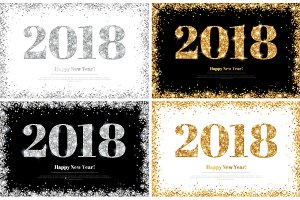 2018 glittering cards