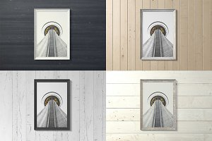 Frame Artwork Mockup Set 2