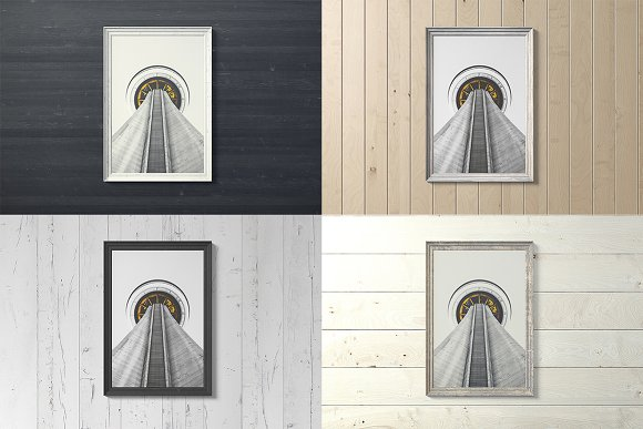 Frame Artwork Mockup Set 2