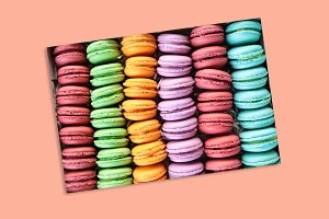 French dessert macarons
