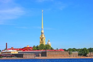 Peter-Pavel's Fortress.