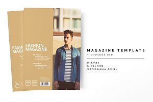 Magazine Template 04
