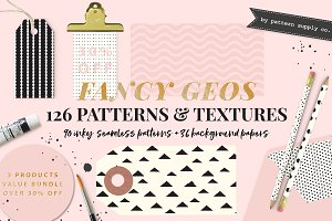 FANCY GEOS - PATTERNS & TEXTURES