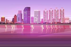 Bangkok. Thailand City landscape