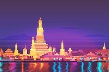 Thailand City landscape