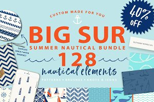 Summer Nautical Bundle! 128 graphics