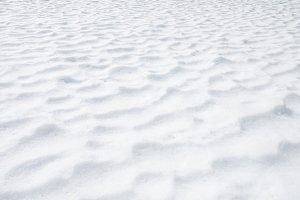 Snow texture detail