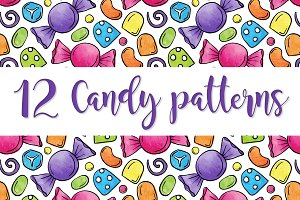 Photoshop Candy Patterns