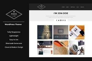 PACE - Responsive WordPress Theme