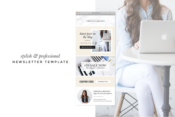 **New** Email Newsletter Template