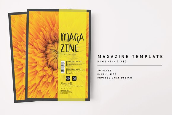 Magazine Template 06