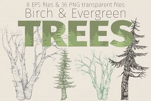 Tree Illustrations Pack