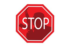 Stop terrorism. Terror is forbidden.