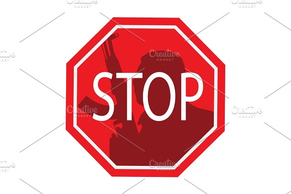 Stop Terrorism Terror Is Forbidden
