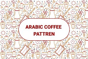 Arabic Coffee Pattern