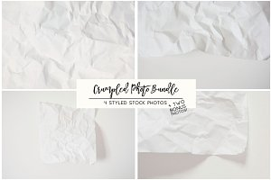 Crumpled Photo Bundle