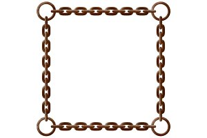 Rusty chain frame