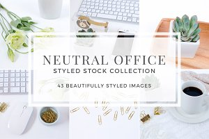 Neutral Office Styled Stock Bundle
