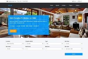 Vila - Real Estate Template