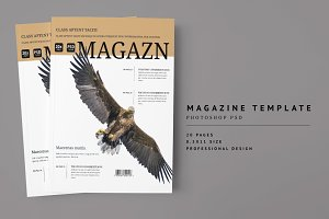 Magazine Template 07