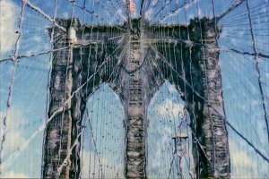 Polaroid: Brooklyn Bridge #7