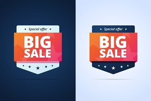 Big Sale Badges