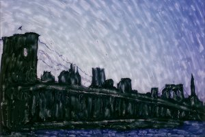 Polaroid: Brooklyn Bridge #11