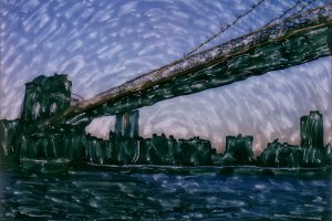 Polaroid: Brooklyn Bridge #12