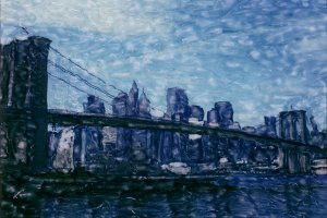 Polaroid: Brooklyn Bridge #14