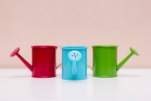 Coloured watering can # 1
