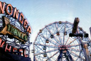 SX-70 Polaroid: Wonder Wheel