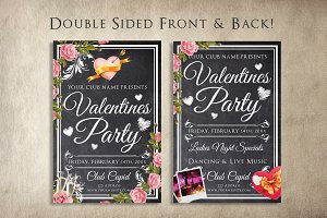Chalk Valentines Flyer