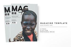 Magazine Template 08