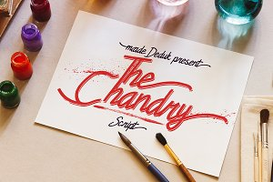 Chandry Typeface