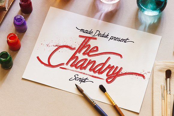 Chandry Typeface