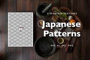 Japanese motif patterns